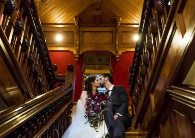 NM Bride & Groom Stairway
