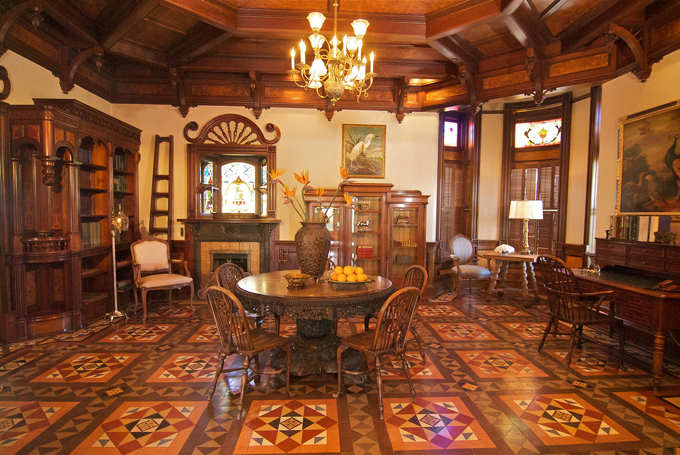 Interior Newhall Mansion